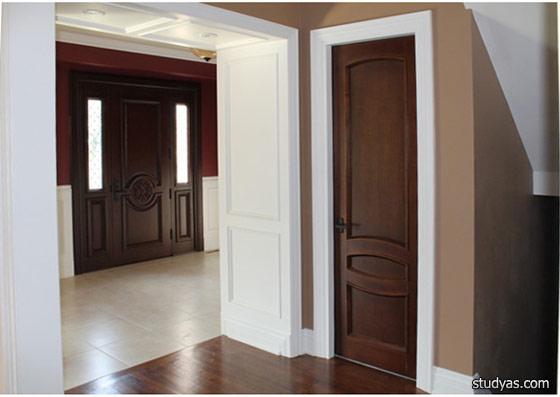 Цвет пола и дверей как сочетать