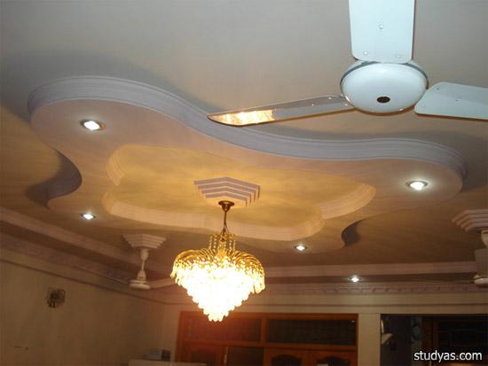 Многоуровневые потолки в интерьере, Школа