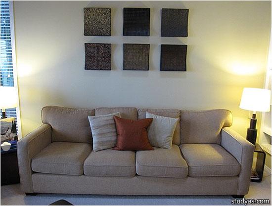 Панно над диваном  фото